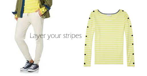 yellow strips