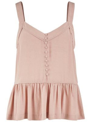 Rose Peplum Top 1