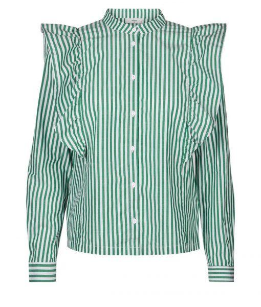 greet frill striped shirt minimum 2