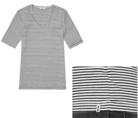 maison sctoch striped tshirt