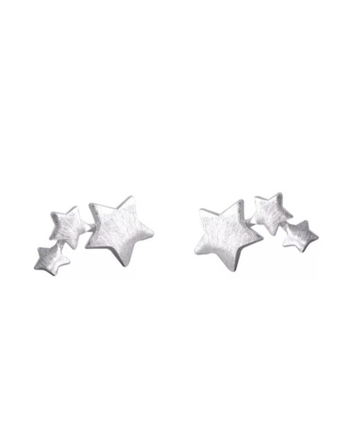star studs sterling silver