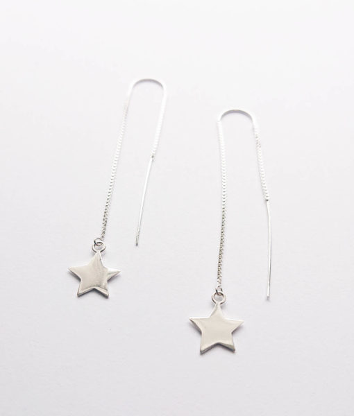star long earrings