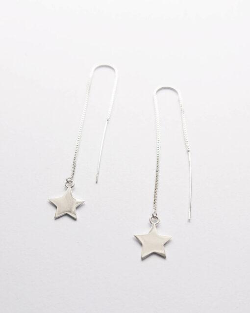 star long earrings