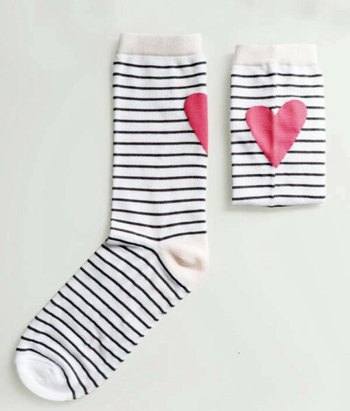 bamboo socks with strips